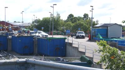 Driftledare för MERAB:s återvinningscentraler