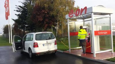 Matavfall blir till biogas